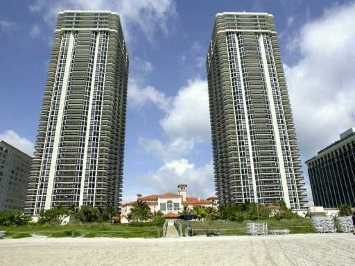 Blue and Green Diamond tower condominiums