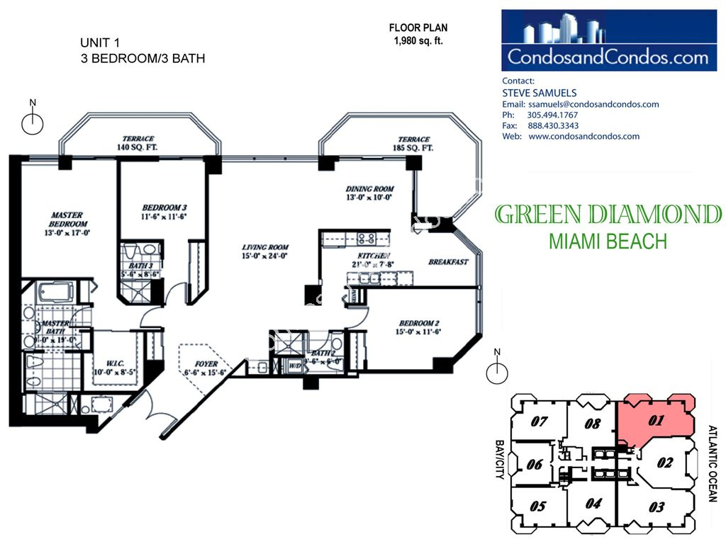 Green Diamond - Unit #01 with 1980 SF