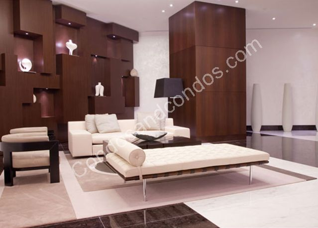 Gorgeous reception lobby with specially appointed designer furniture