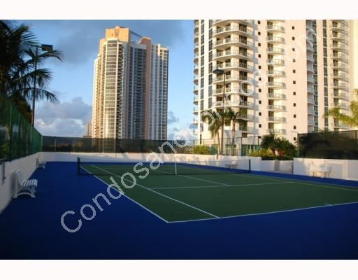 Championship hard surface, lighted tennis courts