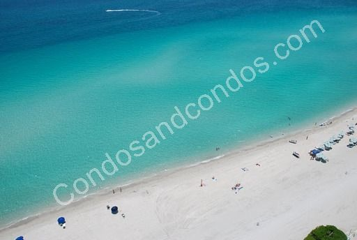 Miles of pristine white sand beach frontage