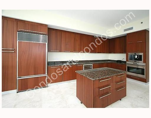 Kitchens complete with European cabinetry and under-counter lights