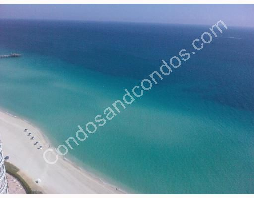 White pristine sands of Sunny Isles Beach
