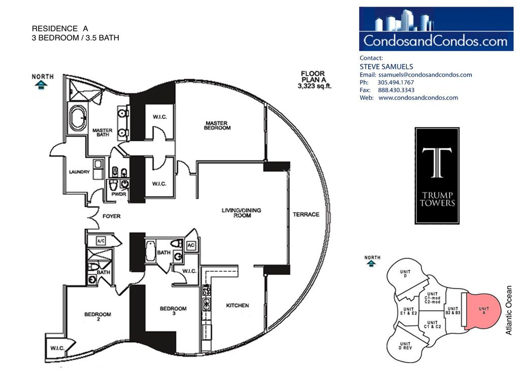 Trump Tower II - Unit #A with 3323 SF
