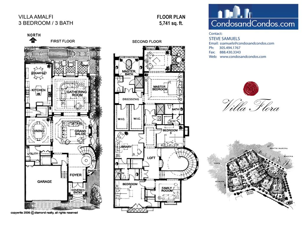 Villa Flora - Unit #Amalfi with 5741 SF