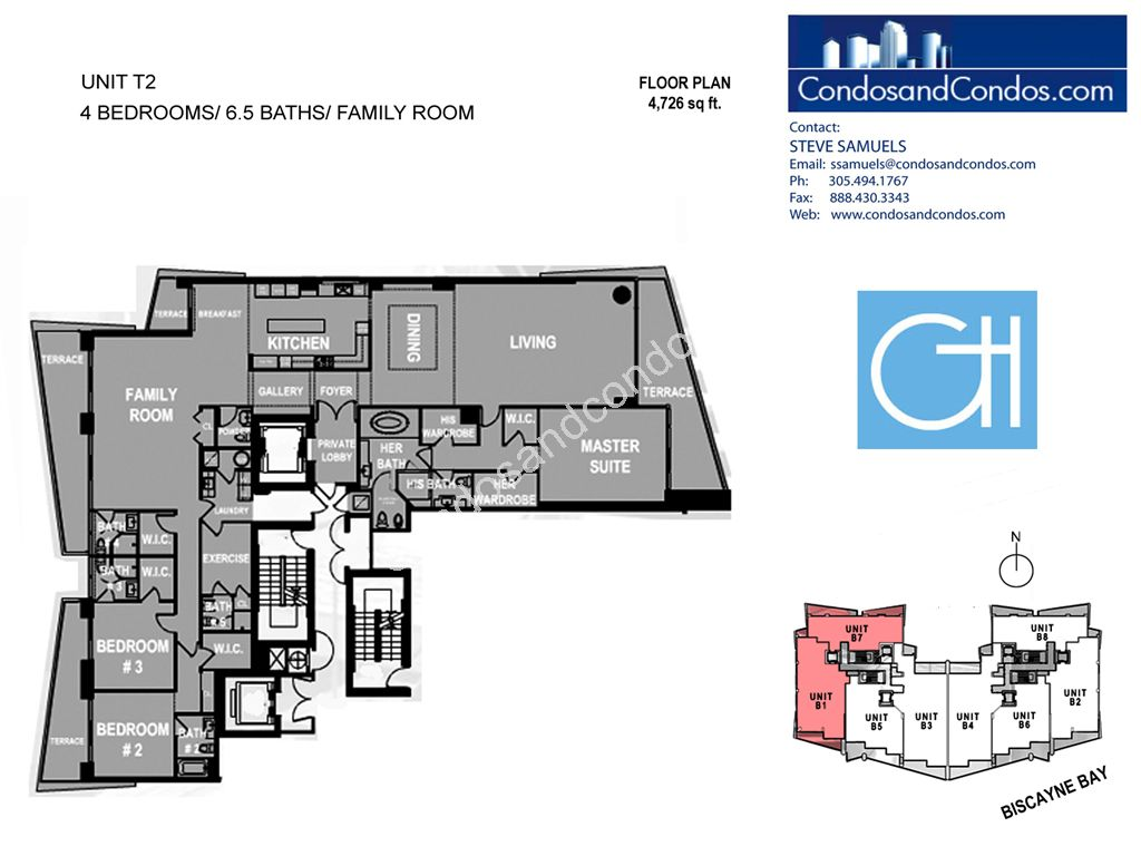 Grovenor House - Unit #T2 with 4762 SF