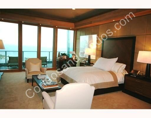 Master bedroom with expansive ocean view