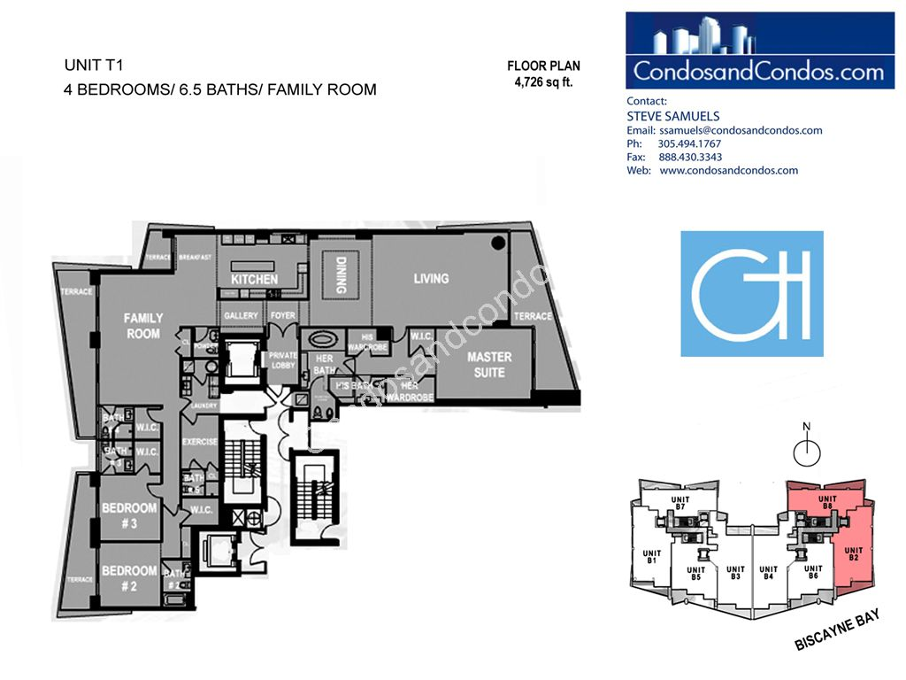 Grovenor House - Unit #T1 with 4762 SF