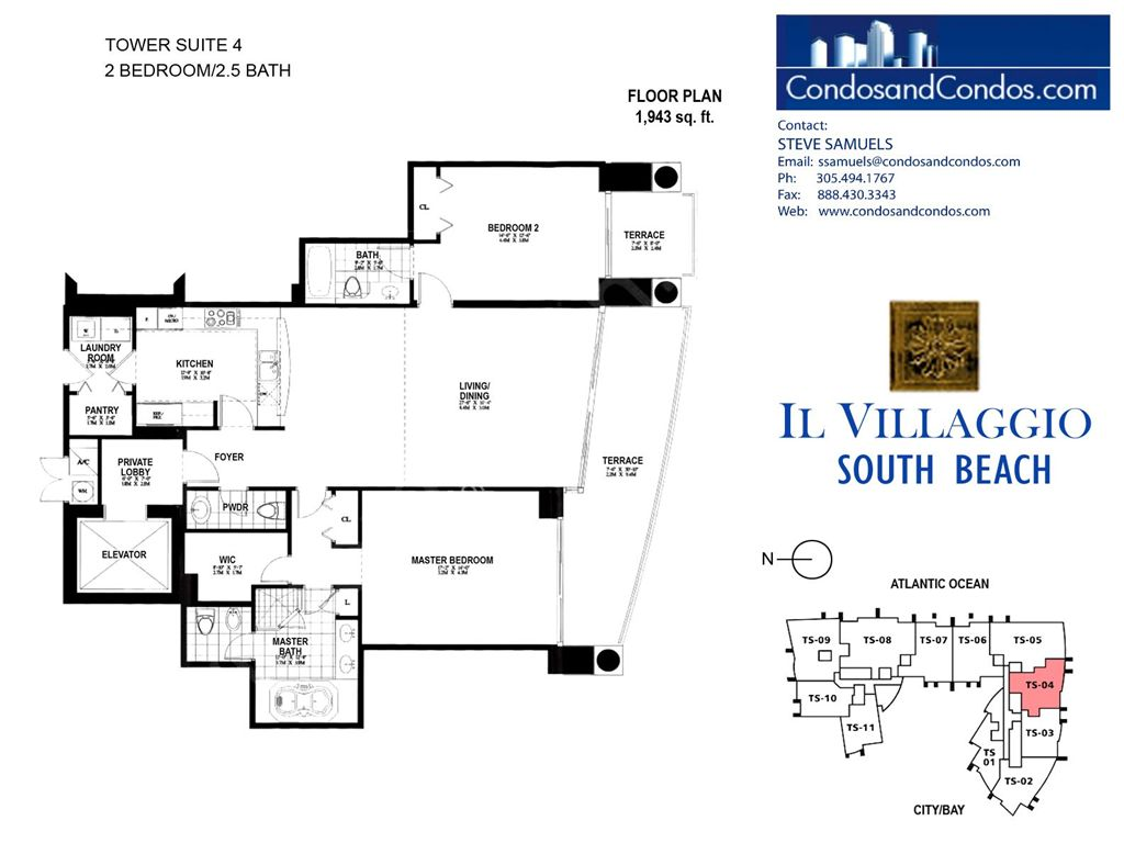Il Villaggio - Unit #04 with 1943 SF