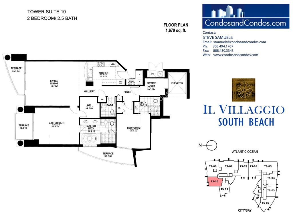 Il Villaggio - Unit #10 with 1679 SF