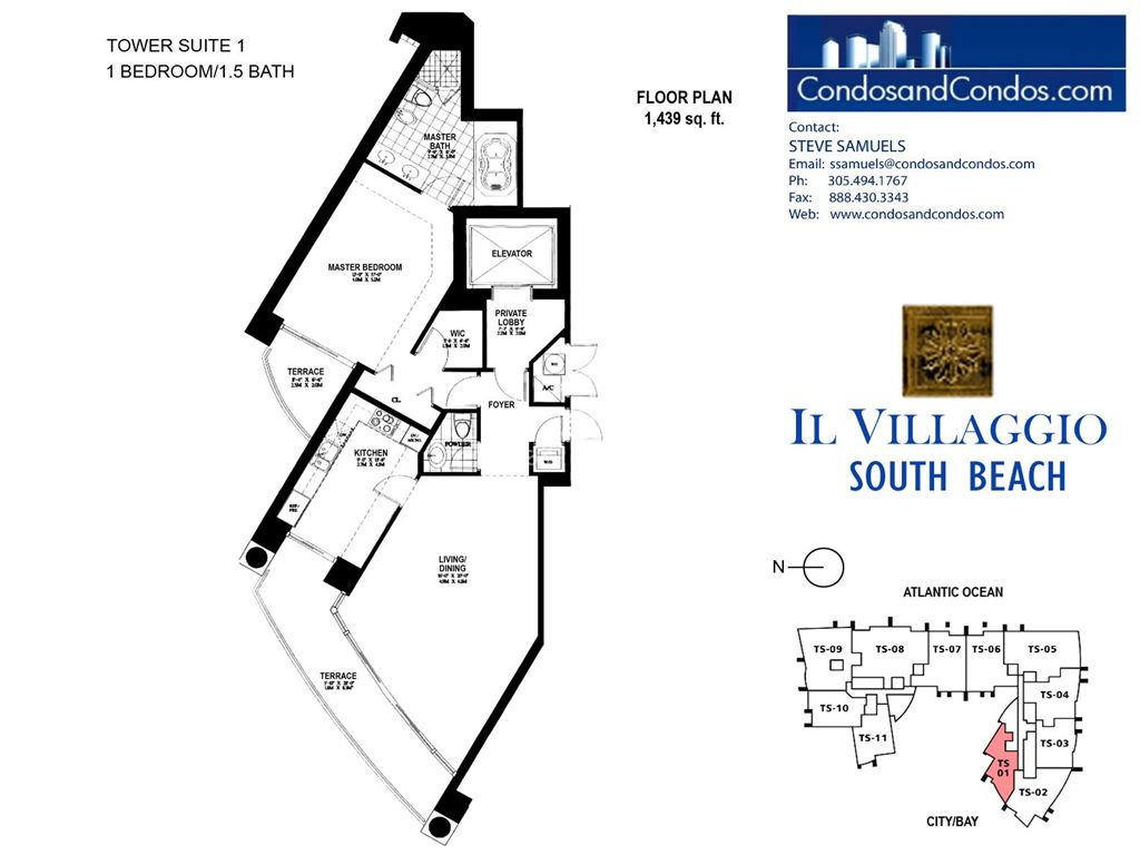 Il Villaggio - Unit #01 with 1439 SF