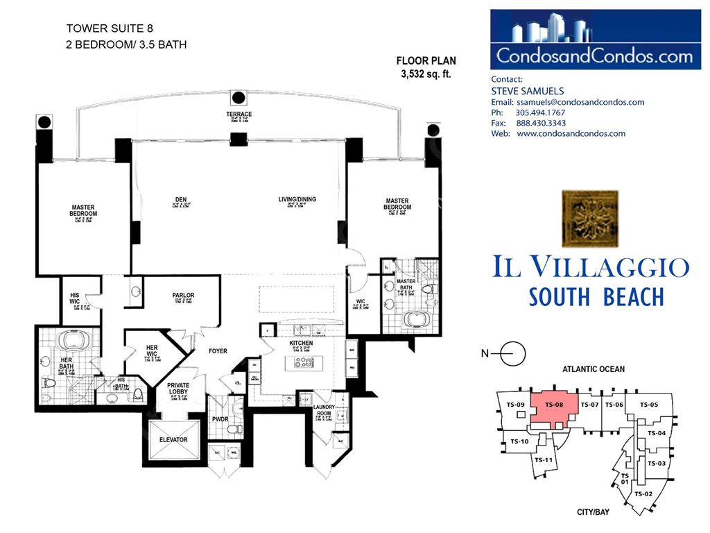 Il Villaggio - Unit #08 with 3532 SF