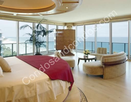 Master Bedroom suite with wraparound ocean view