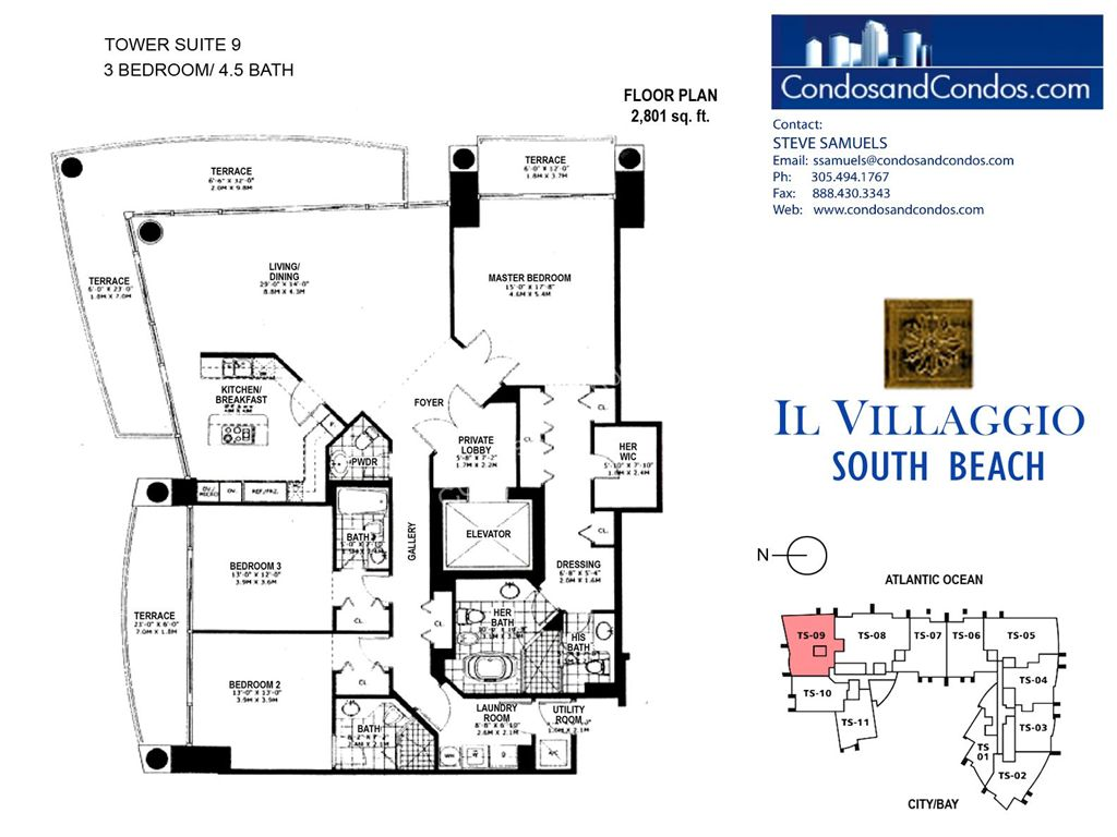 Il Villaggio - Unit #09 with 2801 SF