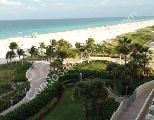 Private beach access via well maintained gardens