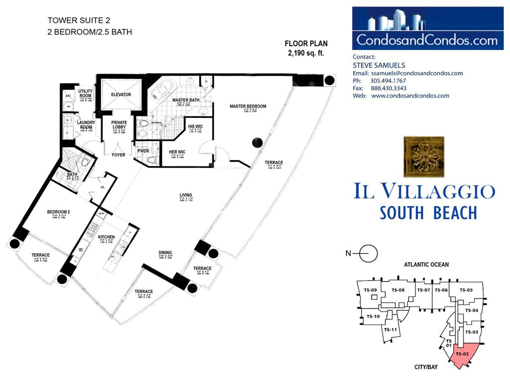 Il Villaggio - Unit #02 with 2190 SF
