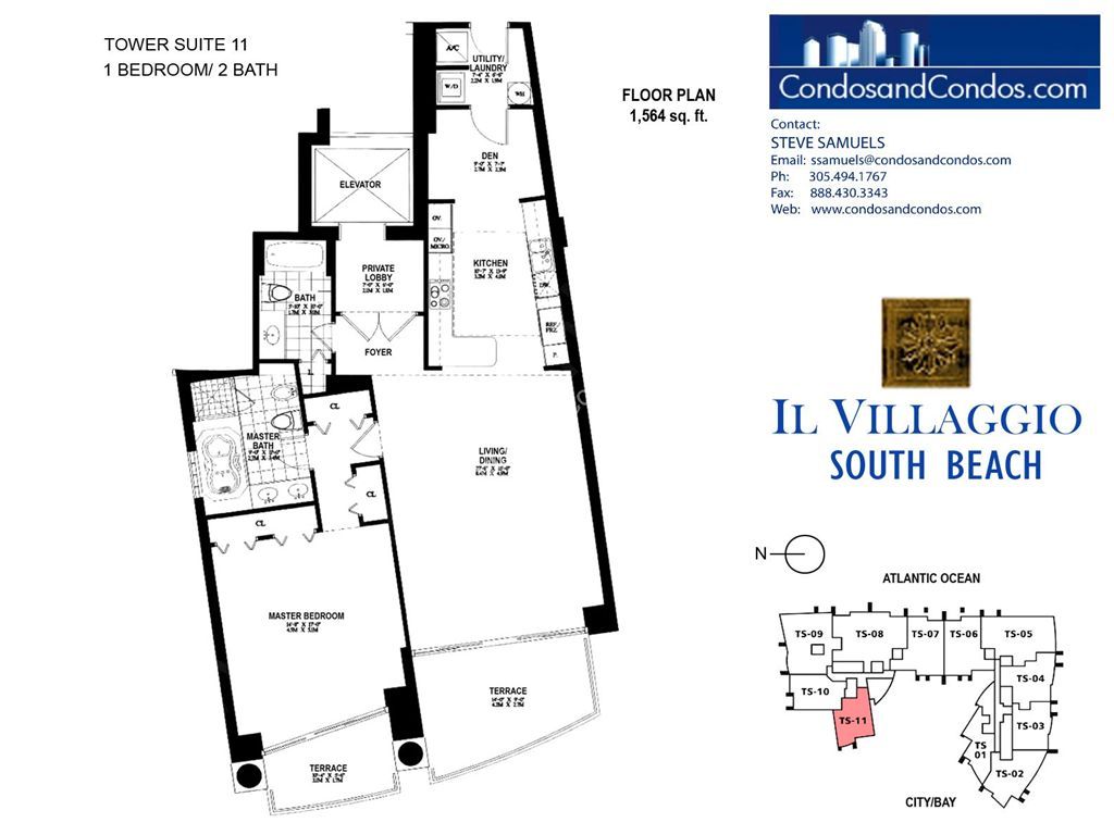 Il Villaggio - Unit #11 with 1564 SF