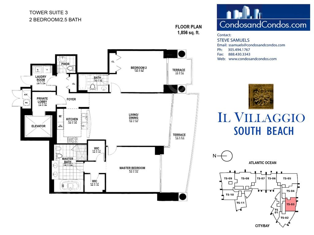 Il Villaggio - Unit #03 with 1856 SF