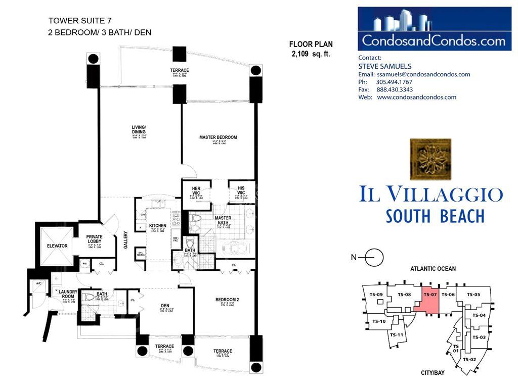 Il Villaggio - Unit #07 with 2109 SF