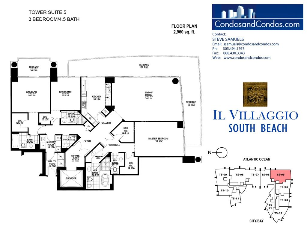 Il Villaggio - Unit #05 with 2950 SF