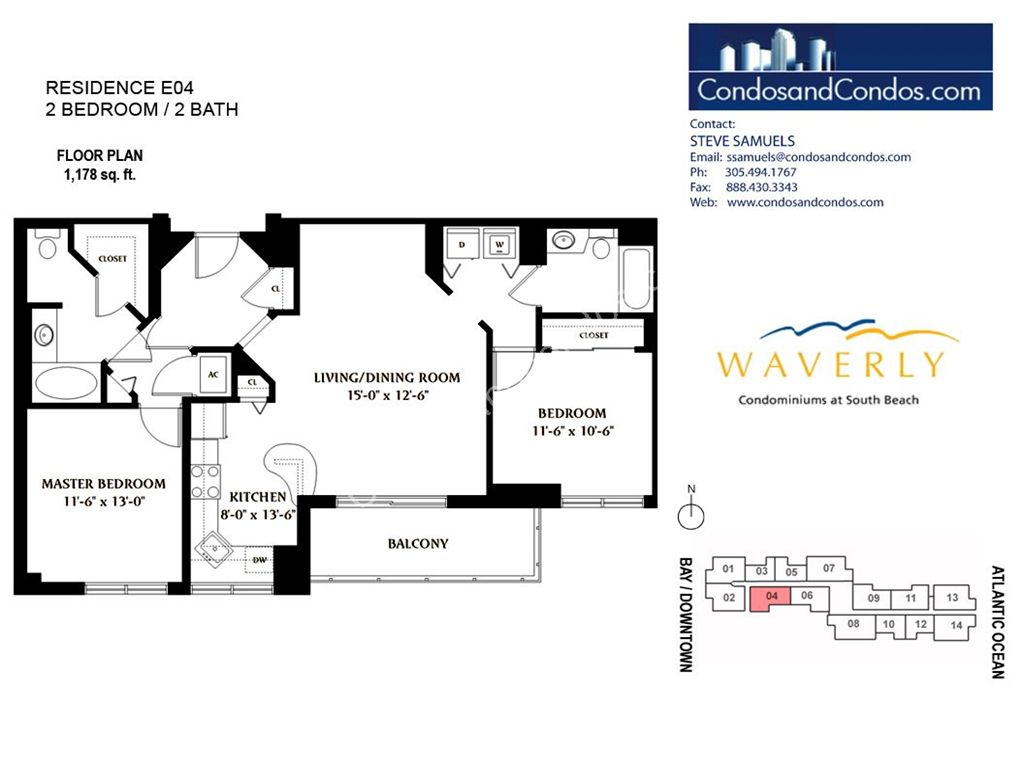 Waverly - Unit #04 with 1178 SF
