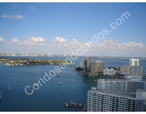 Expansive views of Biscayne Bay and The Atlantic Ocean