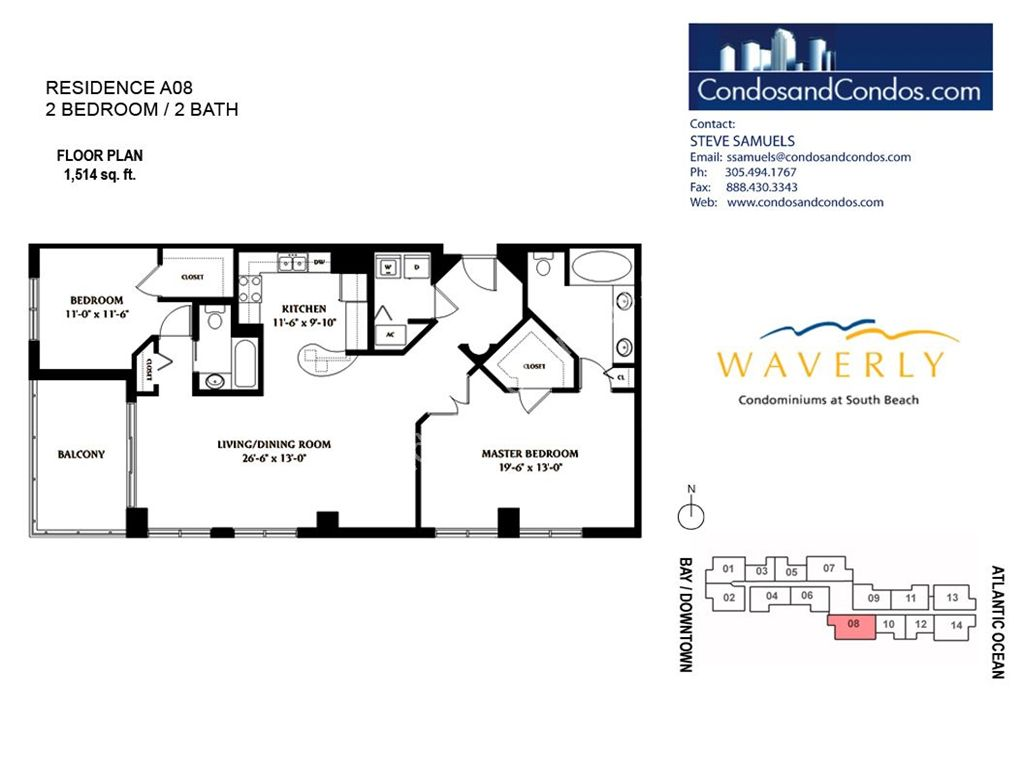 Waverly - Unit #08 with 1514 SF