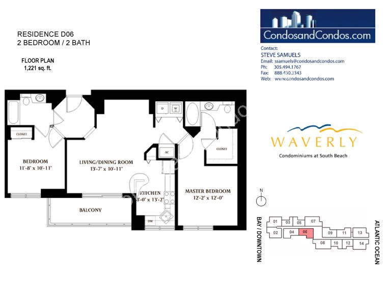 Waverly - Unit #06 with 793 SF