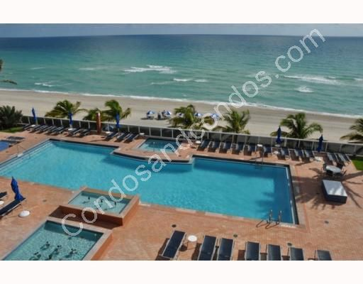 Beachfront heated pool and sundeck