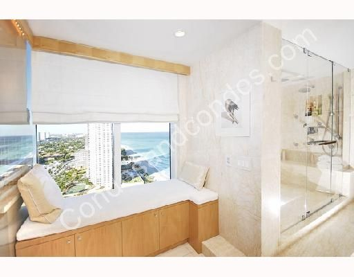 Master bathroom with glass front shower