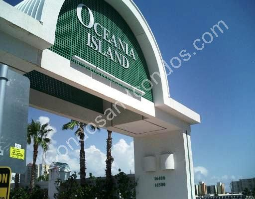 Oceania Island entry way