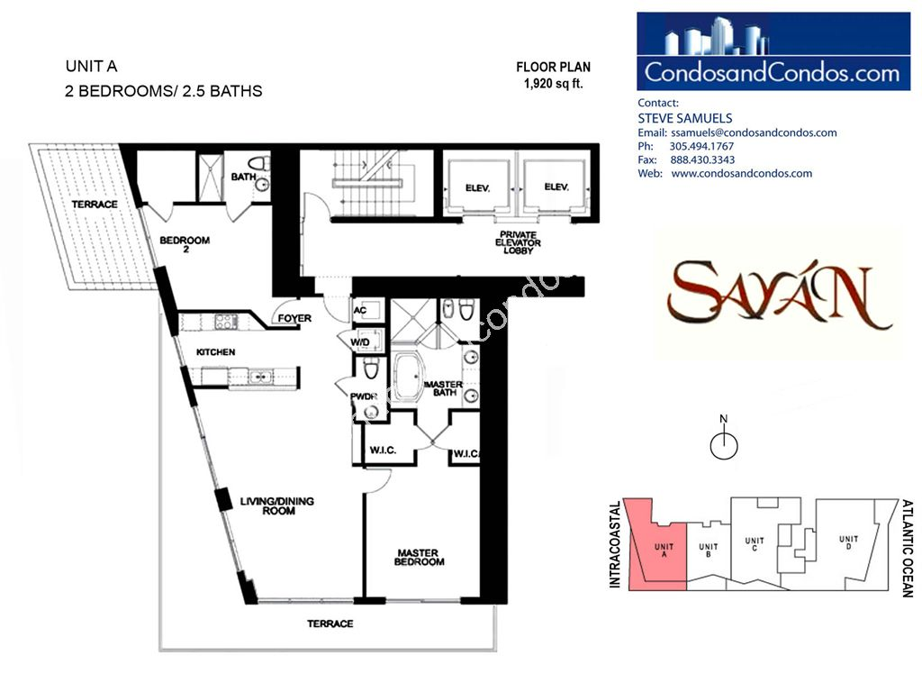 Sayan - Unit #A with 1920 SF