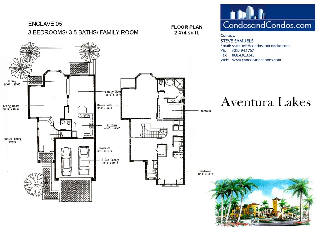 Aventura Lakes - Unit #Enclave 05 with 2474 SF