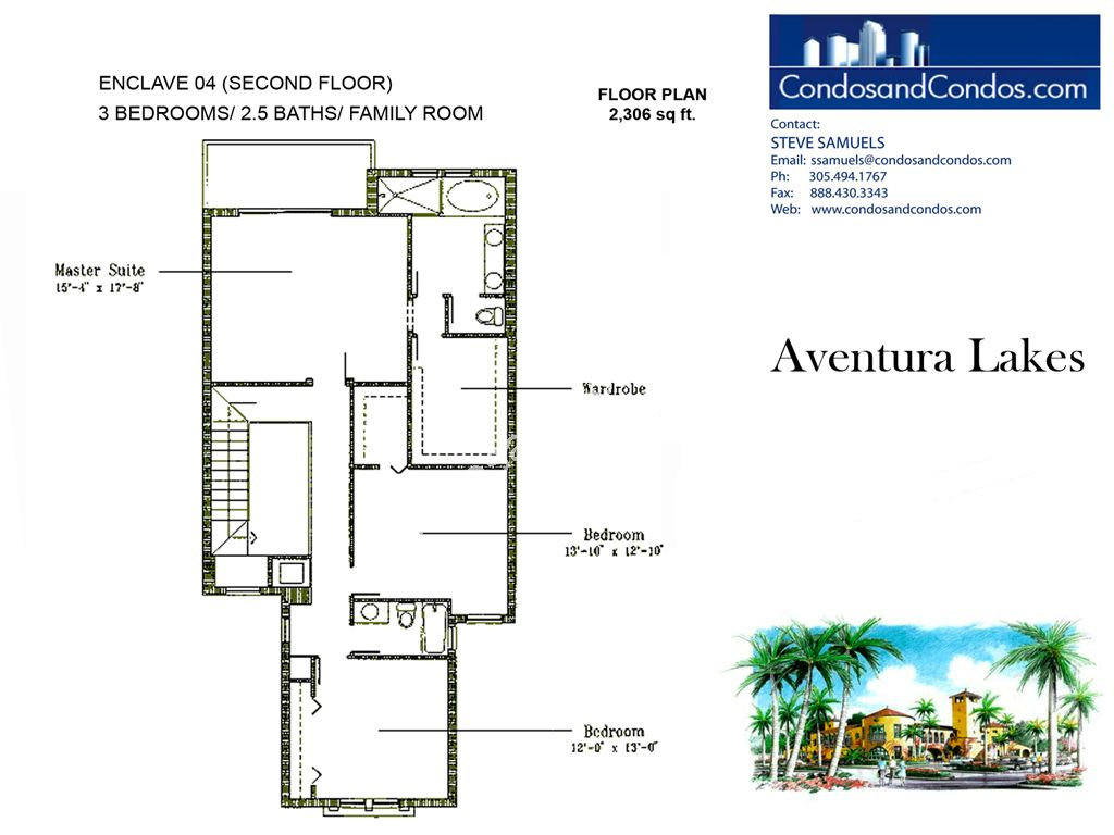Aventura Lakes - Unit #Enclave 04 with 2306 SF