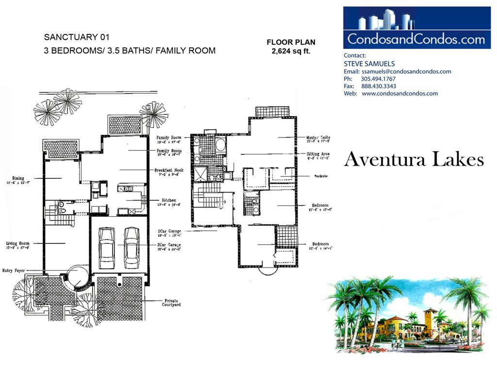 Aventura Lakes - Unit #Sanctuary 01 with 2624 SF