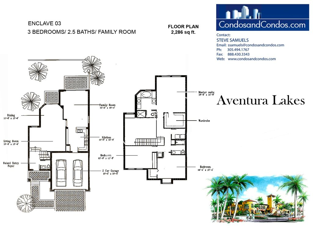 Aventura Lakes - Unit #Enclave 03 with 2286 SF