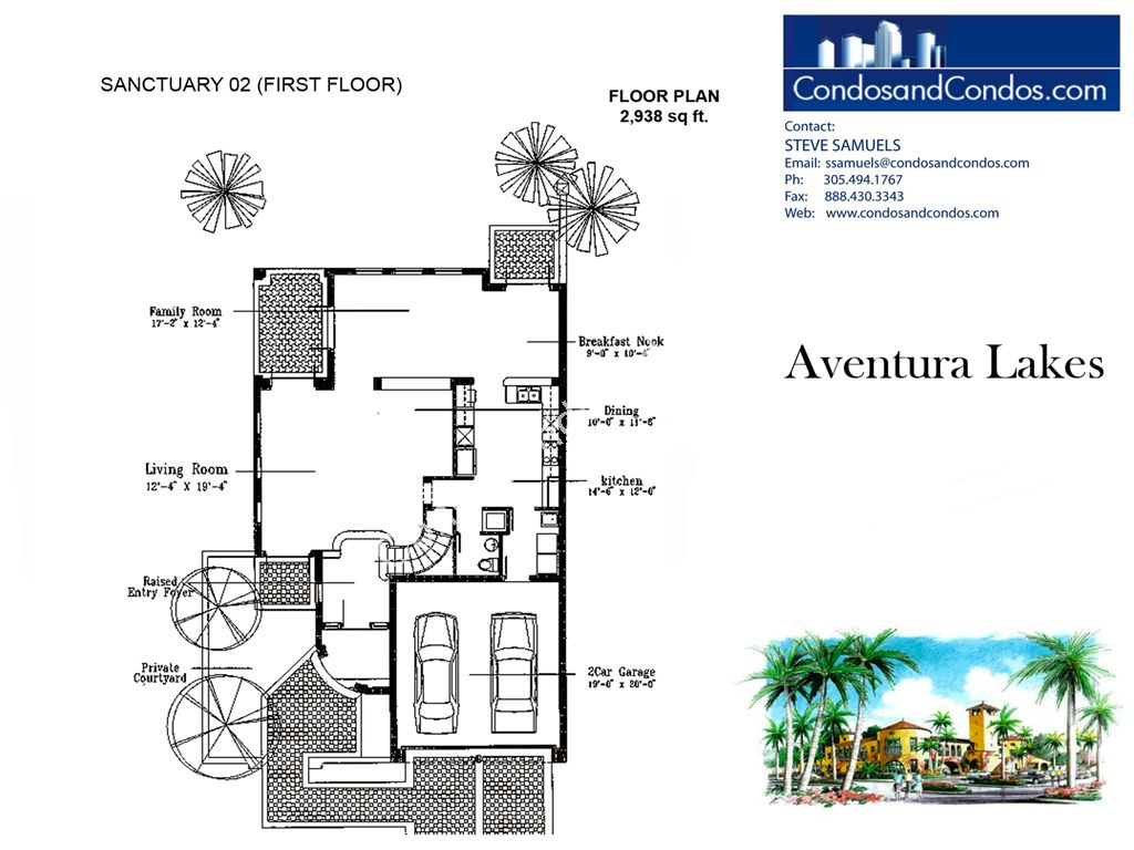 Aventura Lakes - Unit #Sanctuary 02 with 2938 SF