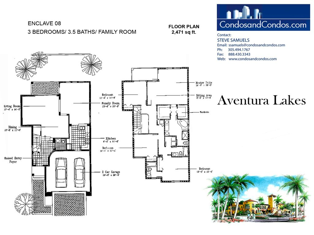 Aventura Lakes - Unit #Enclave 08 with 2471 SF