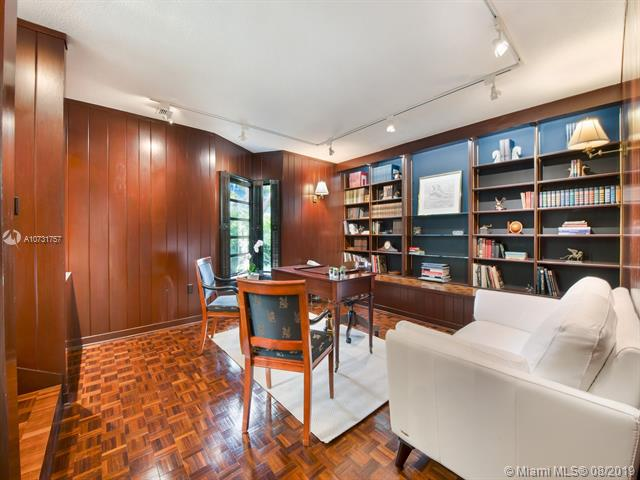Handsome Library/Office with Custom Built-ins