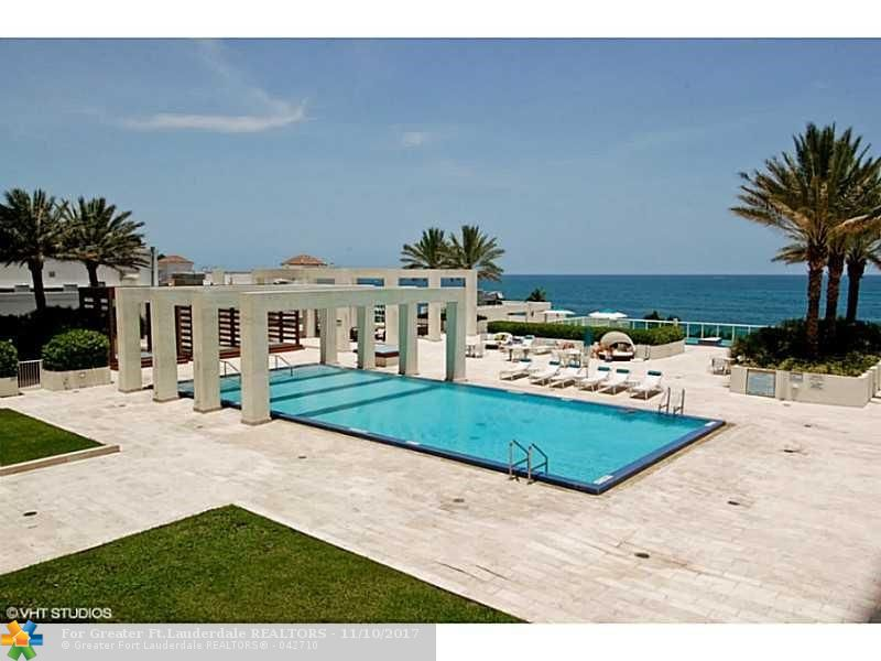Photo of 101 Fort Lauderdale Beach Blvd #801 listing for Sale