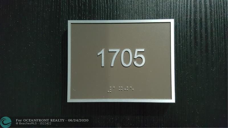 Photo of 1850 OCEAN DR #1705 listing for Sale