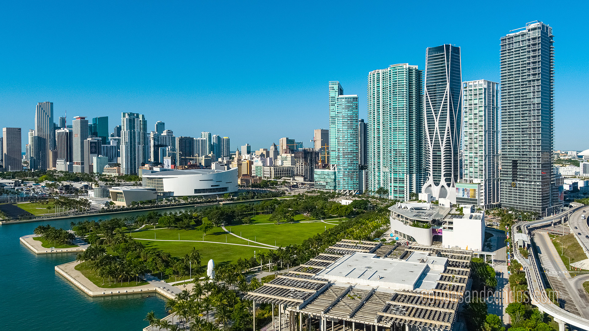 Downtown Miami Neighborhood View